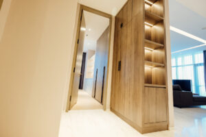 secondary bedroom entrance