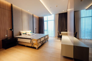 main bedroom at verde two