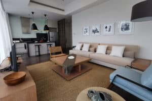 Verde Apartment Living Room