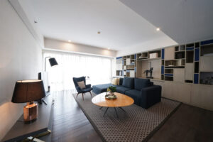 living room verde apartment