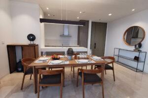 Dining area verde apartment