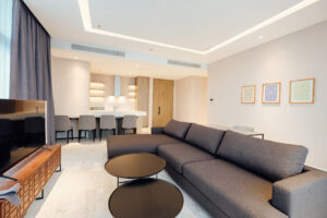 living room at verde two